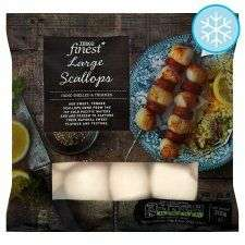 Tesco finest frozen scallops - £1.50 instore (Formby) Also available in other stores but not all apparently.
