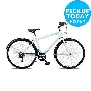 Challenge Dune 700C Hybrid Bike - Mens - White/Blue £109.99 via Argos eBay store