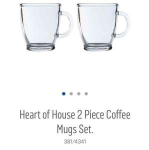two piece coffee mug sets £2.99 at Argos
