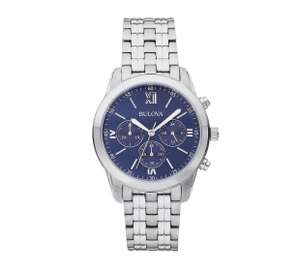 BULOVA 96A174 Blue Dial Sports Chronograph Watch FOR £36.74 at Argos with code