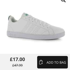 men's adidas advantage clean trainers size 11 - £17 + £4.99 delivery at USC