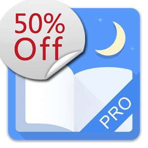 Moon+ Reader Pro - 50% off Google play now £2.19