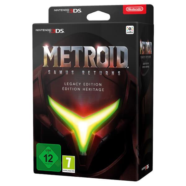 Metroid Samus Returns Legacy edition in stock £59.99 @ Nintendo Store BE QUICK!!