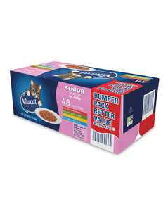 Vitacat cat food pouches 48 X 100g Various to choose from £6.79 + Free Delivery @ Aldi Available 6th Aug