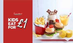 Frankie & Bennys Kids Eat for £1