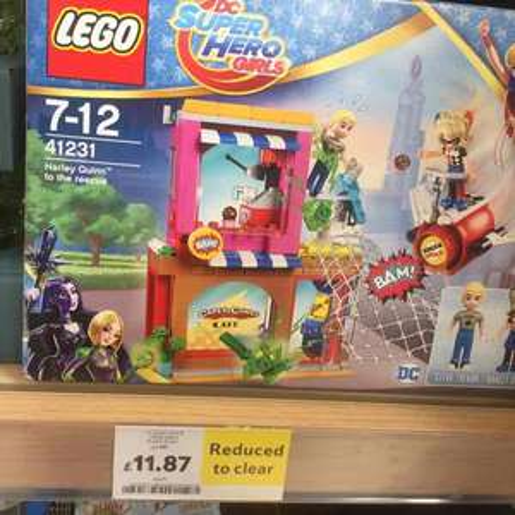 Lego DC Super Hero Girls Harley Quinn £11.87 - Tesco Durrington
