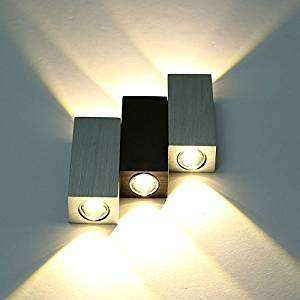 Mordern Wall Lights 6W 6LED UP Down Light Indoor Wall Sconce Lamp Livingroom Bedroom (Warm White) £2.99  (Prime) / £6.98 (non Prime) Sold by yourfuning and Fulfilled by Amazon.