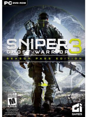 Sniper Ghost Warrior 3 Season Pass Edition PC £12.99 @ cdkeys