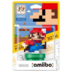 Mario 'Modern Colours' amiibo - Mario 30th Anniversary Collection £7.95 Delivered @ The Game Collection (TGC)