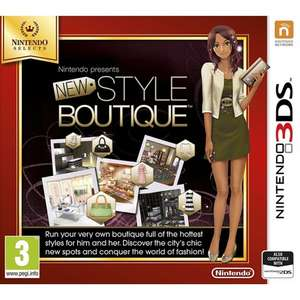 New Style Boutique - Nintendo Selects 3DS/2DS £7.95 Delivered @ The Game Collection (TGC)