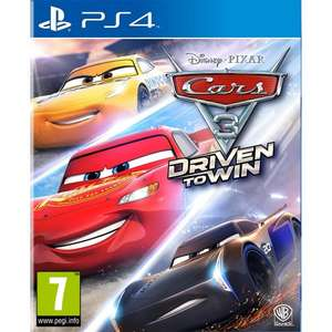 CARS 3: DRIVEN TO WIN [PS4/Switch] £29.95 @ TheGameCollection