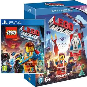 The Lego movie blu-ray with Vitruvious lego minifigure + The Lego movie Videogame [PS4]  £14.95 @ The Game Collection