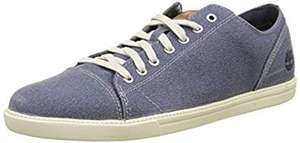 Timberland Men's Canvas shoes now £21 (Blue OR Grey) @ Amazon