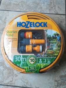 Hozelock 30m, including connections. B&M store £9.99