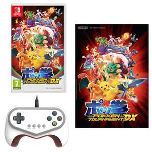 Pokkén Tournament DX (Switch Version) + Pokkén Tournament Pro Pad Controller + A2 Poster - £59.99 From Nintendo Store