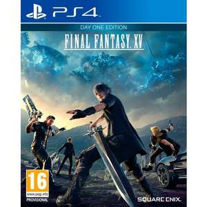 Final Fantasy XV Day One Edition PS4 £20 @ Smyths toys