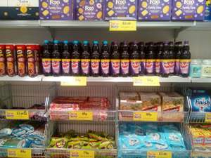 Vimto with 35% extra free for 99p instore at Home Bargains