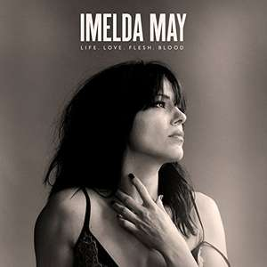 Imelda May Newest CD  Life Love Flesh Blood £5 with prime / £6.99 non prime @ Amazon