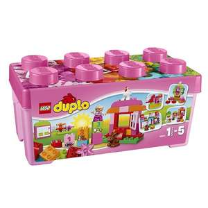 LEGO DUPLO All-In-One Pink Box Of Fun Bucket £16.99 @ Tesco Direct