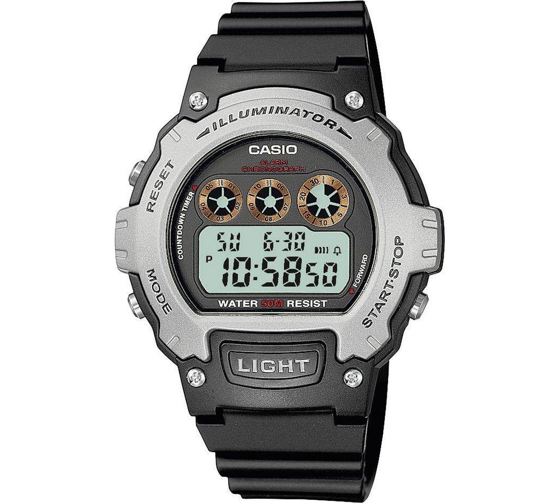 Casio Men's Black LCD Digital Illuminator Watch reduced to £10.99 @ Argos