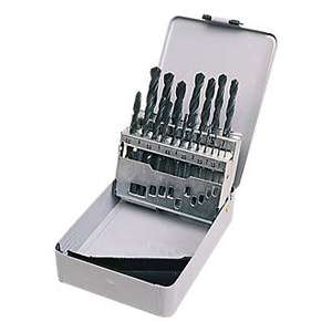 HSS METAL BOXED DRILL BIT SET METRIC 19 PC Reduced to £4.99 @ Screwfix