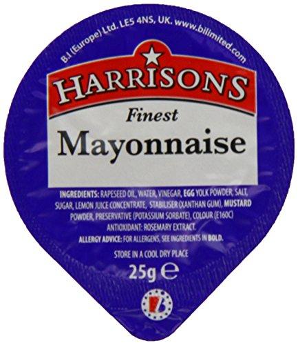 Mayonnaise pots 25g x 100 pots £3.80 @ Amazon