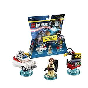 LEGO Dimensions Ghostbusters or Gamer Retro Arcade  Level Pack 14.42 delivered [amazon.fr]