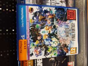 World Of Final Fantasy - £9.99 - Smyths Toys Leeds (Pre Owned)
