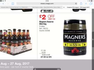 5L Barrell of Magners Reserve £11.98 @ Costco