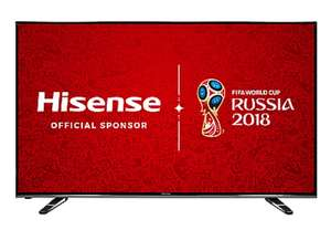 "Refurb Hisense 50"" 4K UHD Smart TV H50M3300 Direct from Manufacturer Hisense £339 @ eBay/ hisense-uk"