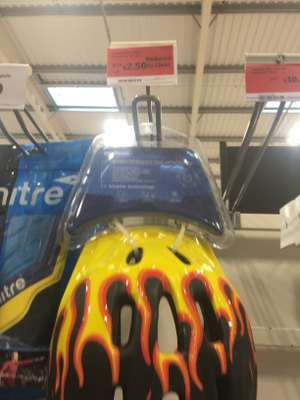 kids cycle helmet £2.50 instore @ Sainsbury's