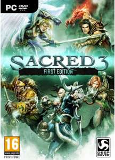 Sacred 3 First Edition PC (Steam) CDkeys £1.49
