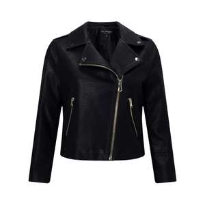John Lewis - Miss Selfridge cropped PU jacket. Was £45 now £12