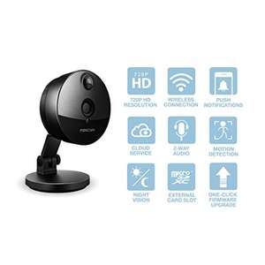 Foscam C1 720P HD Mini Wireless Cube IP Camera - £29.99 Sold by Foscam UK and Fulfilled by Amazon.