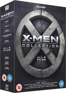 All 8 X-Men films on BluRay £14.99 @ Zavvi (also part of the 2 for £25 offer)