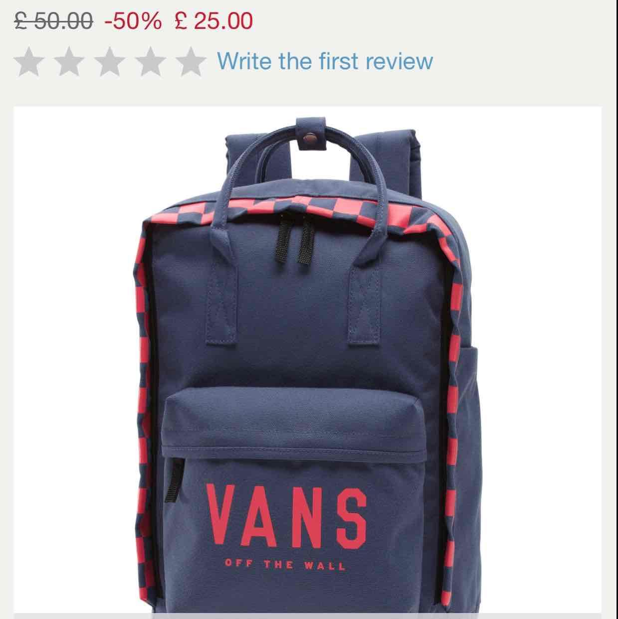Vans 50% Sale
