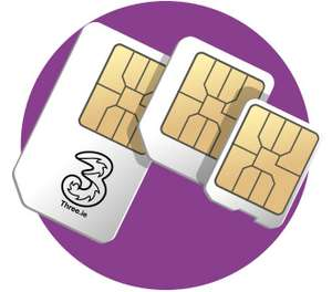 Three Sim Only - Unltd Minutes, Unltd Texts, 30GB 4G Data £20PM (£108 Mail in cashback, possible £11PM after redemption!) £240 total contract duration (before CB) @ Mobilephonesdirect