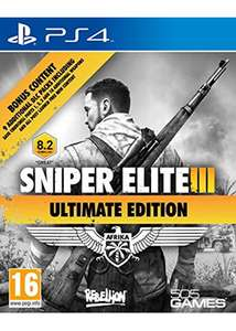 Sniper Elite 3 - Ultimate Edition PS4 @ base.com - £12.25