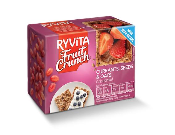 Ryvita Fruit Crunch - 79p @ Tesco