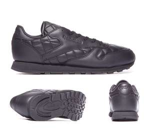 Reebok Classic Leather Quilted Trainer £24.99 C+C @ Footasylum (extra 10% off for students)