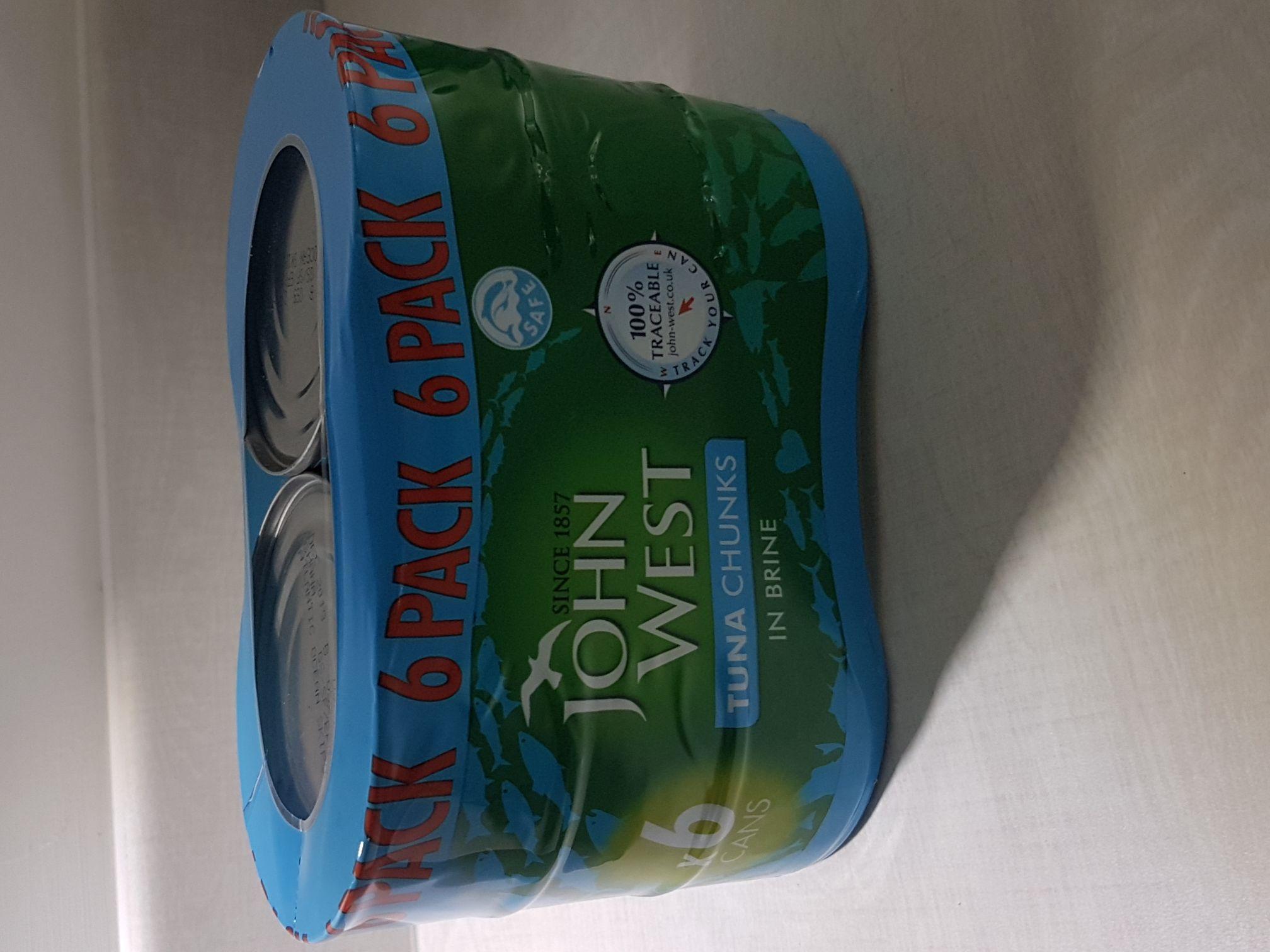 John West 6 pack tuna chunks in store Asda - £4.50