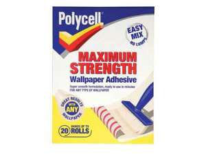 Polycell Max Strength wallpaper adhesive 10p - in store at B&M Chelmsford