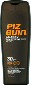 Piz Buin In Sun Moisturising Sun Lotion Factor 30 (200ml) Only £4.99 @ B&M