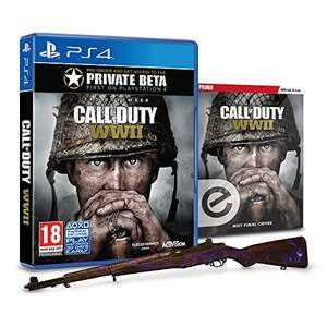 Call of Duty: WWII + Animated Zombies Weapon Camo + Zombies Prima Strategy Guide (Amazon Exclusive @ £47.99 or £45.99 for Prime members)