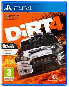 Dirt 4 Day One Edition PS4 and Xbox One £31.99 @Amazon.UK