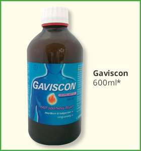 Gaviscon Original Aniseed Liquid (600ml) Only £6.99 @ Savers