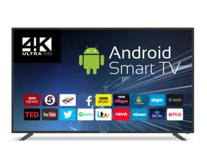 Goodmans G65ANSMT-4K 65 Inch UHD Smart Android LED TV - Black - £729 @ Crampton & Moore / eBay