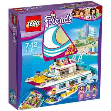 Lego Friends Sunshine Catamaran (41317) - £42.44 @ Toys R Us using voucher