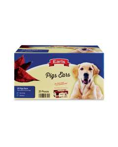 Earls pigs ears box of 25 back in Aldi pre order for free delivery - £8.99