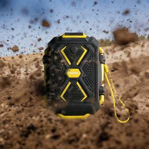 Rugged 10000mAh Portable Charger just 8.99 - with torch, waterproof Sold by WESDAR-UK and Fulfilled by Amazon for £8.99 (Prime or £12.98 non-Prime)